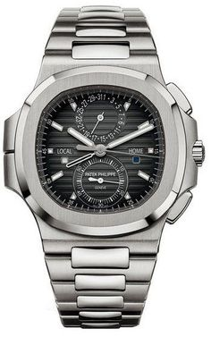 Nautilus Stainless Steel 5990/1A-001, 40.5mm