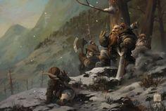 Game of the Hunter, Kan Liu(666K信譞) on ArtStation at https://www.artstation.com/artwork/game-of-the-hunter