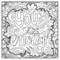 Power of Faith Adult Coloring Book With Bonus Relaxation Music CD Included: Color With Music Quote Coloring Pages, Printable Adult Coloring Pages, Colouring Pages, Coloring Sheets, Coloring Books, Printable Worksheets, Mandala Art, Color Quotes, Illustration