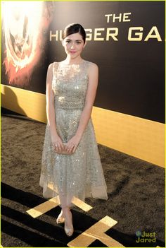 Isabelle Fuhrman at The Hunger Games premiere!