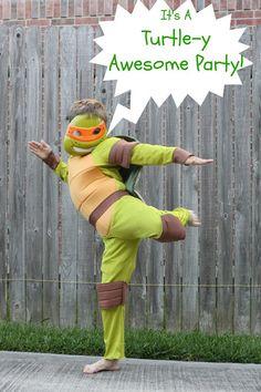Teenage Mutant Ninja Turtle Party Invites