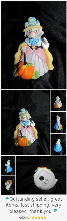 Kitty Cucumber Prunella Fairy Godmother Schmid Cinderella Fall Decoration 1990