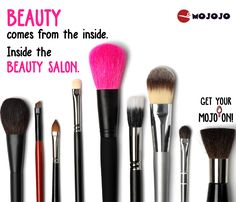 BEAUTY Comes from the inside. Inside the BEAUTY SALON - Mojojo.Com    Choose from more than hundred parlors in Bangalore through Mojojo.com. Book now and get 200 Rs off!!  #BeautySalons #BeautyTips #Beauty #BeautySpa #BeatyParlour #Bangalore