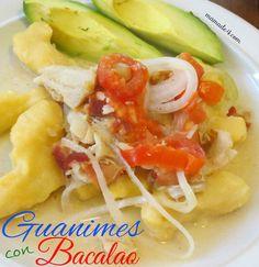 Rica receta de los Guanimes con Bacalao. Son muy fácil de hacer y sobre todo deliciosos. http://www.mamade4.com/?p=1453
