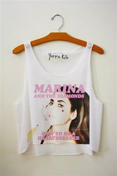 Marina And the Diamonds...someone buy me this shirt......