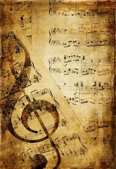 Vinage Grunge Art: Rusty musical pages - - Rusty musical pages. Music picture by Freeartist. You may easily purchase this image as Guest without opening an account. Included into the 'Vinage Grunge Art' image selection. Papel Vintage, Vintage Paper, Vintage Art, Sheet Music Art, Vintage Sheet Music, Mix Media, Watercolor Card, Etiquette Vintage, Foto Transfer