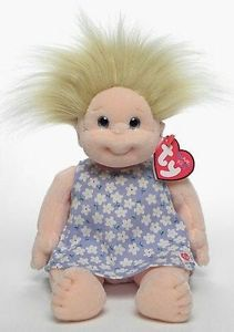 Angel - TY Beanie Kids - Retired - generation - 1994 - Mint Condition by MNValuables on Etsy Rare Beanie Babies, Ty Babies, Cute Baby Dolls, Ty Beanie Boos, Child Doll, Plushies, Teddy Bear, Angel, Toys