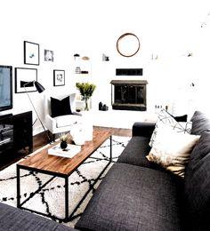 home decor ideas apartment # home decor ideas apartment#apartment #decor #home #ideas Casual Living Rooms, Simple Living Room, Cozy Living Rooms, My Living Room, Living Room Decor, Small Living, Modern Living, Living Spaces, Apartment Living