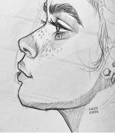 51 mil Me gusta, 117 comentarios - ART Art Drawings Sketches Simple, Pencil Art Drawings, Cool Drawings, Pencil Sketching, Beautiful Sketches, Realistic Drawings, Human Drawing, Human Art, Drawing Faces