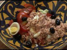 Comment faire une salade Nicoise par Michele Cotta