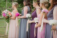 Living Fresh Pinks, Coral & Mauve Wedding
