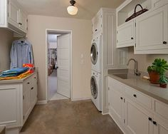 combined+laundry+and+bathroom+design | Laundry Room Design Ideas 399 Functional Laundry Room Design ...
