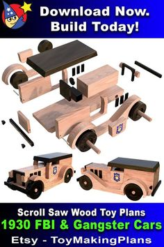 Wooden Plane, Wooden Car, Wooden Toys, Woodworking Router Bits, Woodworking Workshop, Woodworking Projects, Wooden Toy Trucks, All You Need Is, Wood Toys Plans