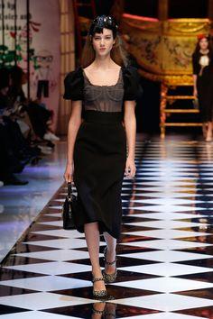 2a70567225c82 Fashion Show. Baroque FashionTulle DressLeather ...
