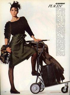 Vogue US 1984                Photo Irving Penn Model Kim Williams