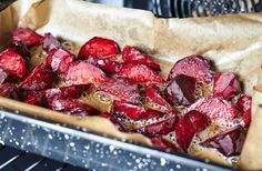 Try this delicious recipe for roasted beets. Oven roasted root vegetables are so delicious! Oven Roasted Root Vegetables, Roasted Beets, Roasting Beets In Oven, Clean Recipes, Healthy Recipes, Cooking Beets, Good Food, Yummy Food, Nutrient Rich Foods