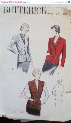 SALE Vintage 1930s Sewing Pattern Women's by Sutlerssundries, $10.49