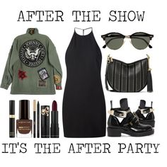How To Wear After The Show It's The After Party Outfit Idea 2017 - Fashion Trends Ready To Wear For Plus Size, Curvy Women Over 20, 30, 40, 50