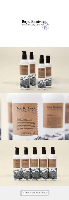 Baja Botánica Lavender Beauty and Wellness Product Packaging by Sociedad Anónima