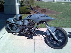 MILITARY FUN - STRANGE B-2 BOMBER MOTORCYCLE!