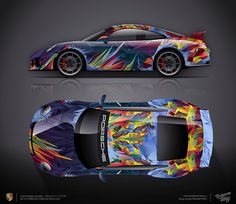 So goodbye autumn!? Design consept #3 Porsche 911 GT3