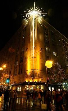 The Macy's Christmas star has become a holiday tradition in Seattle.
