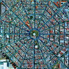 The Real Unrealness of the Overview Effect   Plaza Del Ejecutivo, Mexico City   FATHOM