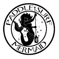 Paddle Surf Mermaid Logo