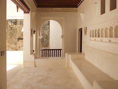 One Way House, Lamu Island, Kenya, Africa Lamu Kenya, Kenya Africa, Dream Home Design, House Design, Pueblo House, Arabian Decor, Built In Furniture, Built In Seating, Desert Homes