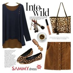 """The wild"" by helenevlacho ❤ liked on Polyvore featuring Anja, Bobbi Brown Cosmetics, women's clothing, women, female, woman, misses, juniors and sammydress"