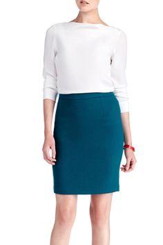 25 Bedford | Twenty Five Bedford — The Classic Skirt  #peacock #25bedford