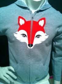 kids capuchon sweater Vos / hooded sweater Fox | new products | Mingface