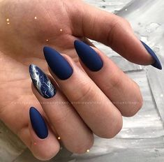 Almond Acrylic Nails, Best Acrylic Nails, Stylish Nails, Trendy Nails, Hot Nails, Hair And Nails, Faux Ongles Gel, Matted Nails, Fingernails Painted