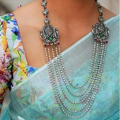 10 Simple Patchwork Saree Designs You Can Do From Home Keep Me Stylish Silver Jewellery Indian, Silver Jewelry, Gold Jewellery, Silver Ring, Silver Earrings, Earrings Uk, Jewellery Shops, Jewellery Making, Jewelry Stores