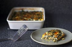 swiss chard and sweet potato gratin - From Jen