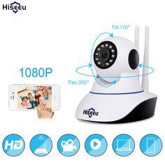 1080P IP Camera Wireless Home Security IP Camera Surveillance Camera Wifi Night Vision CCTV Camera Baby Monitor 1920*1080 //Price: $50.56 & FREE Shipping //     #hashtag3