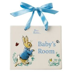 Beatrix Potter - Peter Rabbit - Door Plaque - Baby s Room - A27060 - New