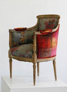 magnifique fauteuil rouge
