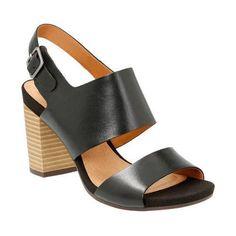 Women's Clarks Banoy Tulia Slingback Leather (US Women's 7 N (Narrow))