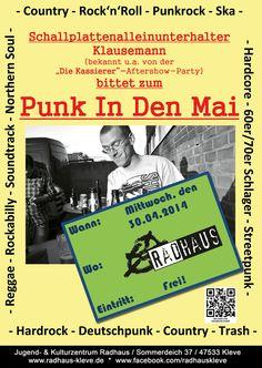 Punk In Den Mai @ Radhaus Kleve #radhaus #kleve #radhauskleve