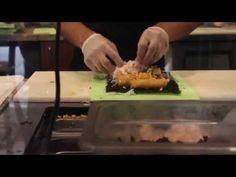 How Sushirrito Rolls A Sushi Burrito - YouTube