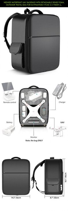 Neewer Watertight UAV Backpack with Detachable Dense Foam, Outdoor Travel Bag for DJI Phantom 1 FC40 2 2 Vision 2 Vision+ 3, DJI 3 Professional, Advanced, Standard, 4K Cameras and Accessories (Black) #dji #bag #camera #phantom #gadgets #drone #racing #plans #technology #shopping #standard #products #tech #parts #fpv #3 #kit