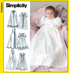 I'm making this for my second granddaughter.  Got to get started now so it is done in time for her blessing.  Yikes!!