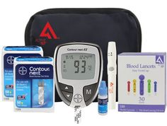 active1st Bayer Contour Next Complete Diabetes Testing Kit  from active1st Price 39.95