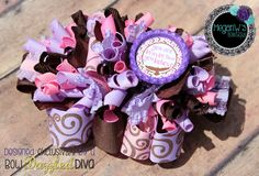 Funky Loopy Bow https://www.facebook.com/MegansBowtique/