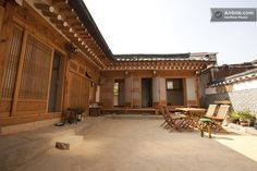 typical Korean-traditional house in Seoul