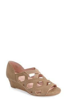 TARYN ROSE 'Soukey' Wedge Sandal (Women). #tarynrose #shoes #sandals