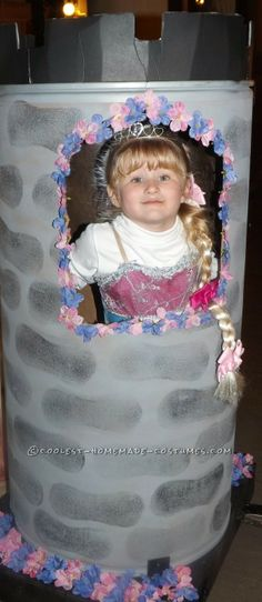 Contest-Winning Rapunzel Halloween Costume for a Girl ... This website is the Pinterest of costumes