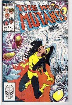 The New Mutants #15 May 1984 Marvel Comic Book Scaredy Cat Illyana Rasputin
