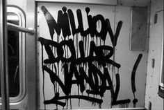 million dollar vandal / street / graffiti / tag